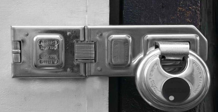 Best locks for storage units