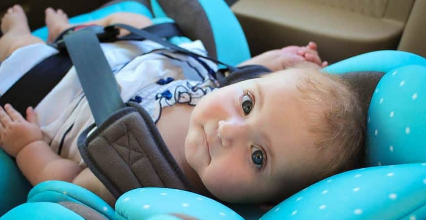How to clean baby car seat straps
