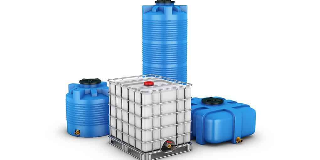 how to clean plastic water containers