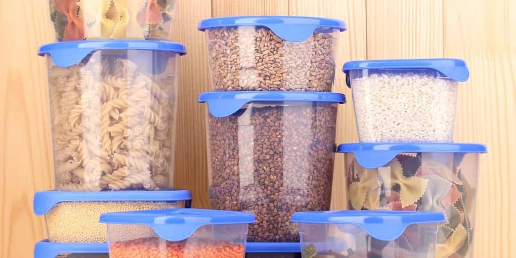 Types of food storage containers