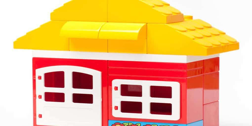 how to store built lego set